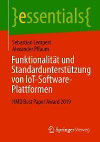 Funktionalität und Standardunterstützung von IoT-Software-Plattformen Foto №1