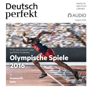 Deutsch lernen Audio - Olympische Spiele 2016