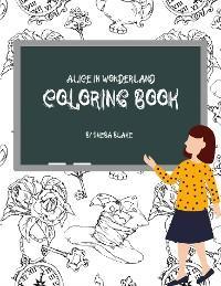 Alice in Wonderland Coloring Book for Teens (Printable Version) photo №1