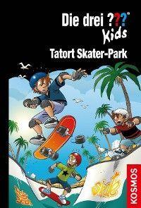 Die drei ??? Kids, 84, Tatort Skater-Park (drei Fragezeichen Kids) Foto №1