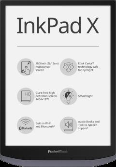 InkPad X Metallic Grey