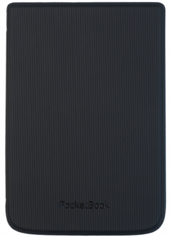 Cover Shell straight lines black  für PocketBook Touch HD 3, Touch Lux 4 und Basic Lux 2