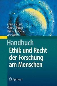 Handbuch Ethik und Recht der Forschung am Menschen photo №1