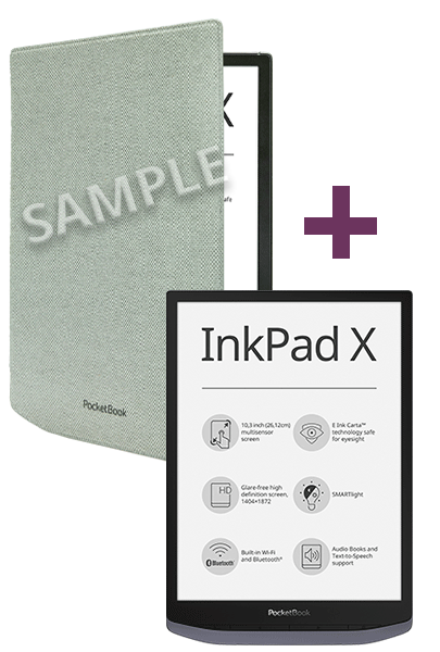 PocketBook InkPad X Kombi-Angebot Foto №1