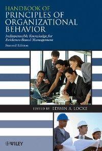 Handbook of Principles of Organizational Behavior Foto №1