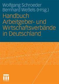 Handbuch Arbeitgeber- und Wirtschaftsverbände in Deutschland photo №1