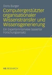 Computergestützter organisationaler Wissenstransfer und Wissensgenerierung Foto №1