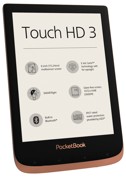 PocketBook Touch HD 3 Spicy Copper Foto 2