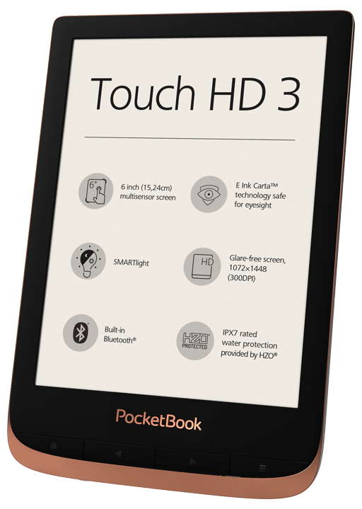 PocketBook Touch HD 3 Spicy Copper Foto 3