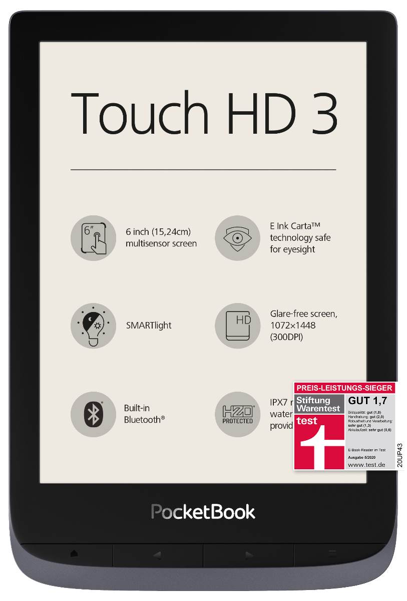 Touch HD 3 metallic grey  photo 1
