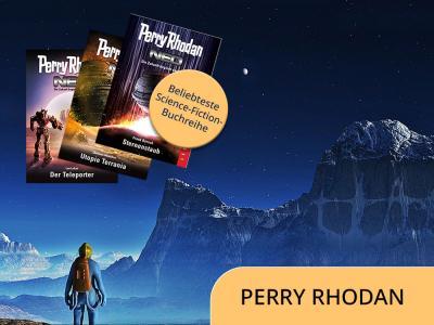Perry Rhodan als beliebteste Science-Fiction-Buchreihe