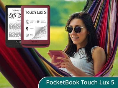 Der neue PocketBook Touch Lux 5 jetzt mit SMARTlight