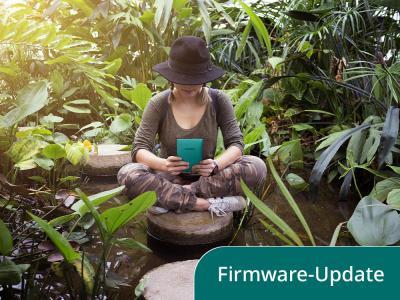 Aller guten Dinge sind 3: Nun wurde auch die Firmware des Touch Lux 4 auf den neuesten Stand gebracht